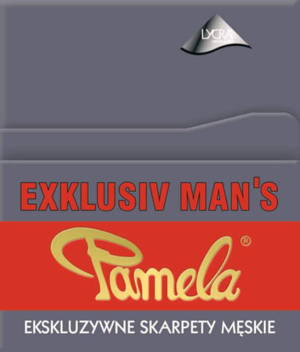 Skarpety męskie wizytowe Exklusiv