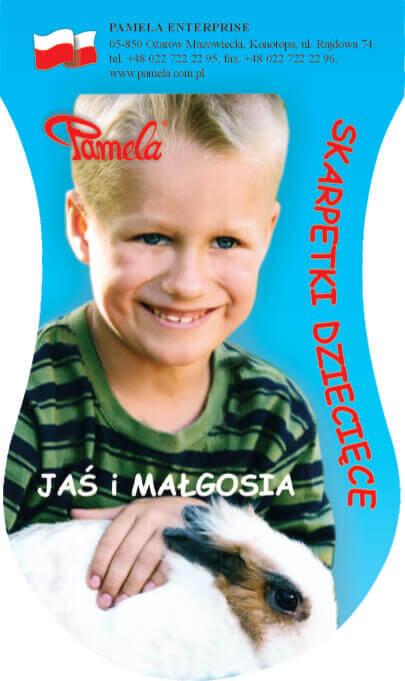 Skarpety dziecięce Jaś i Małgosia2
