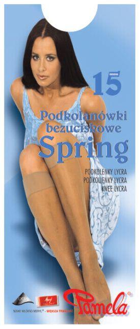 Podkolanówki uciskowe Spring